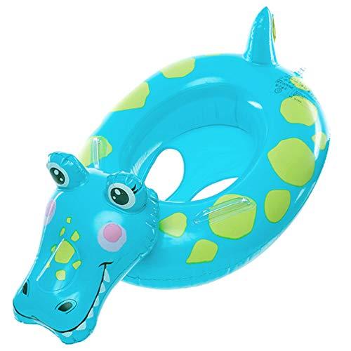Cloud Kids Kinder Schwimmring Aufblasbarer Cartoon Schwimmhilfe Schwimmsitz Krokodil