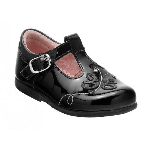 Start-rite , Chaussures de ville à lacets pour fille Noir noir - Noir - Noir verni, S6