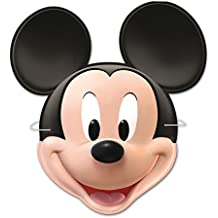 Mickey Mouse - 6 caretas, bolsa 12 packs (Verbetena 014000389)