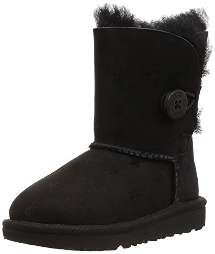 UGG® Bailey Button Ii Stars Kinder Stiefel Schwarz