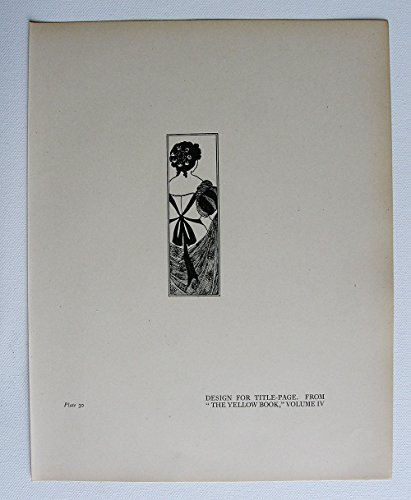 aubrey-beardsley-antique-print-design-for-title-page-from-the-yellow-book-volume-iv