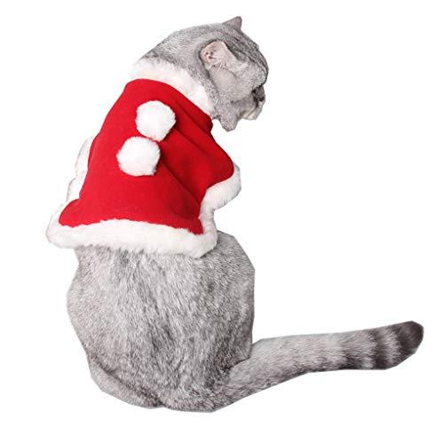 er Fleece-Mantel Schöne Kleintiere Weihnachten Cape Weiche Falten der Winter-Kleidung Cosplay Kostüme des neuen Jahres ()