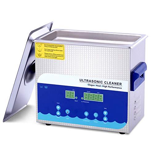 Limpiador Ultrasónico 3.2l Con Temporizador De Canasta