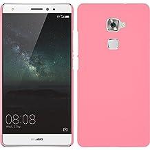 Funda Rígida para Huawei Mate S - goma rosa - Cover PhoneNatic Cubierta + protector de pantalla