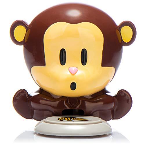 Com-four® Secador de uñas Secador de uñas Monkey en un Divertido diseño de Mono pequeño, pequeñas...