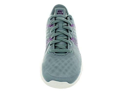 Flex Fury Running Shoe Dv Gry/White/Fchs Glw/Bld Brry