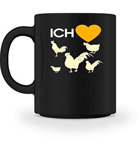 Chorchester Ich Liebe Hühner für Landwirte - Tasse