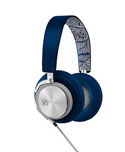 B&O PLAY by Bang & Olufsen BeoPlay H6 (2014 LE Blue) Over-Ear Kopfhörer für Smartphone/iPod/IiPad aus Leder und Aluminium blau - - Apple Ipod Leder