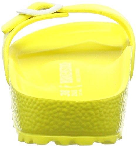Birkenstock - Madrid Eva, Ciabatte Donna Giallo (Gelb (Neon Yellow))