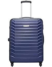 Aristocrat Juke Polycarbonate 75 cms Blue Hard Sided Suitcase (JUKE75TMIB)