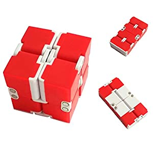 Junos Infinity Cube For Stress Relief - Assorted Multi Color