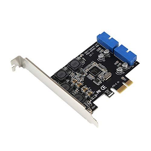 Vorsichtig Schnelle Usb 3.0 Pci-e Pcie 4 Ports Express Expansion Karte Adapter Add-on Karten