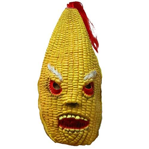 Festival Mais Kostüm - LYLLB-festival items Latex Mais Maske Haube Halloween Party Kostüm Dekorative Maske
