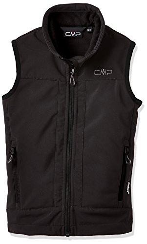 CMP Jungen Weste Softshell, schwarz (U901), 164, 3A00184
