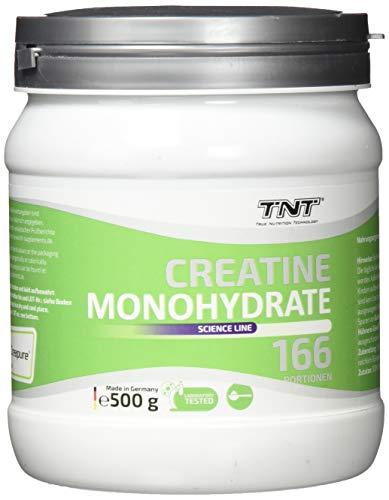 Creatin Monohydrat Pulver - Reines hochwertiges Creapure Kreatin Pulver - Creatine 500g NEUTRAL