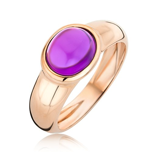miore-ladies-9-ct-rose-gold-amethyst-oval-cut-bezel-ring-size-n