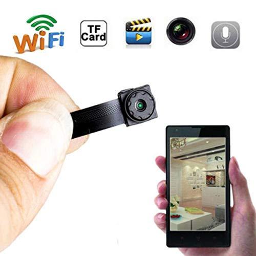 Telecamera Spia Nascosta,Mom-baby.store Microcamera spia HD 720P con Rete Wireless IP Camera Wi-Fi Telecamera Nascosta