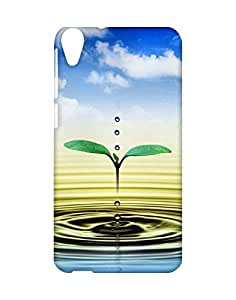 Mobifry Back case cover for HTC Desire 820 Mobile ( Printed design)