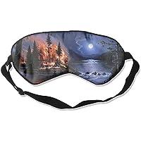 Sleep Eye Mask Nature Fire Moon Lightweight Soft Blindfold Adjustable Head Strap Eyeshade Travel Eyepatch E1 preisvergleich bei billige-tabletten.eu