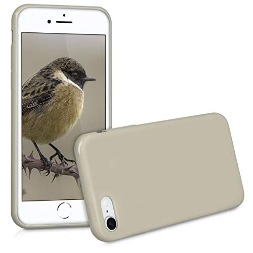 kwmobile Apple iPhone 7/8 Hülle - Handyhülle für Apple iPhone 7/8 - Handy Case in Beige matt