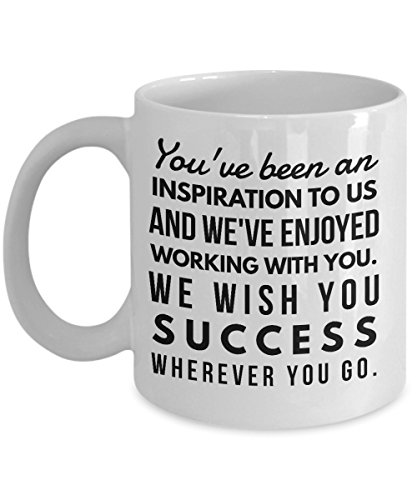 ddcc53d4e363 Coworkers Co-worker best mugs coffee tea cup gifts funny friend colleague  Retirement boss Goodbye Leaving Farewell For Going Away Thank You 11 oz  ceramic ...