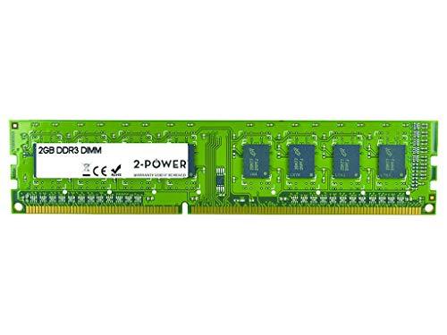 2-Power mem2102a 2GB DDR31333MHz Speicher-Modul-Module Arbeitsspeicher (2GB, DDR3, 1333MHz, PC/Server, 1x 2GB, 152mm) - 2gb Server Arbeitsspeicher