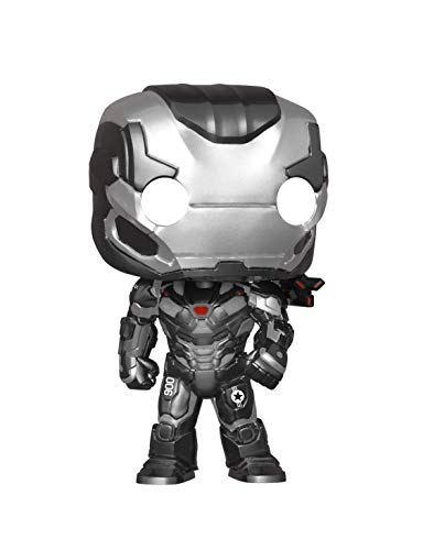 Funko- Pop Bobble: Avengers Endgame: War Machine Collectible Figure, Multicolore, 36673