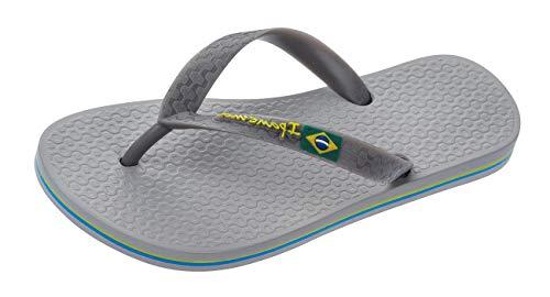 Ipanema Classic Brazil para Hombre Chanclas Sandalias -Grey-45/46