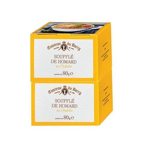 Französische Spezialitäten: Hummer-Soufflé mit Chablis-Wein - 2x 80g