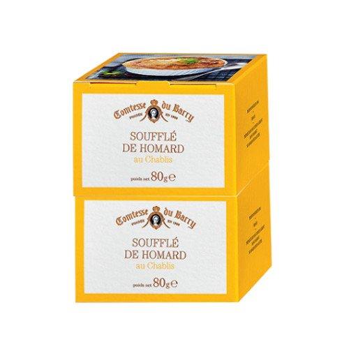 Preisvergleich Produktbild Französische Spezialitäten: Hummer-Soufflé mit Chablis-Wein - 2x 80g