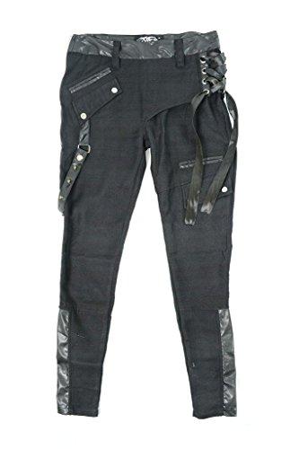 Vixxsin -  Pantaloni  - Donna Black 31W x 34L