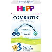 HiPP 3 Bio ComBiotik Bio, Folgemilch ab dem 10. Monat, 4er Pack (4 x 600 g)