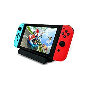USB Charger Stand for Nintendo Switch, Nintendo Switch Charging Dock Include Type-C Cable