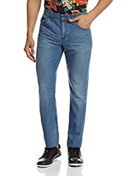 Calvin Klein Mens Slim Fit Jeans (036182183149_4ATAE16_32W x 32L_Blue)