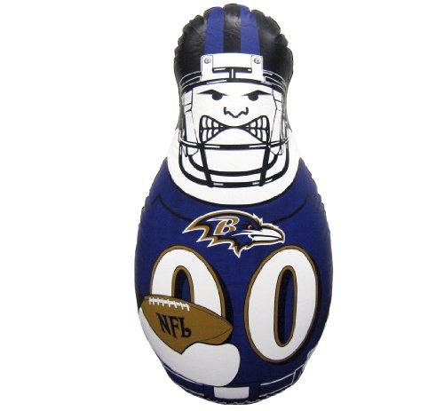 Fremont Die NFL Tackle Buddy aufblasbaren Boxsack, 102cm hoch, Team Colors