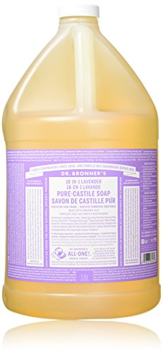 Dr. Bronner - Savon de Castille lavande, 1 liquide Gallon
