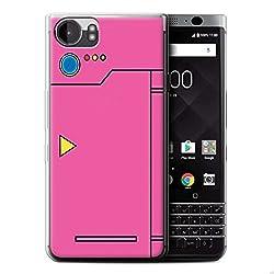 Stuff4® Gel TPU Hülle/Case für Blackberry KeyOne/BBB100/Rosa Muster/Anime Cartoon Kodex Kollektion