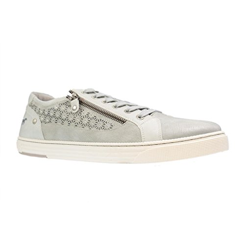 MUSTANG - Damen Sneaker - Silber Schuhe in Übergrößen, Größe:45