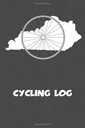 Cycling Log: Kentucky Cycling Log for tracking and monitoring your workouts and progress towards your bicycling goals. A great fitness resource for ... Bicyclists will love this way to track goals! por KwG Creates