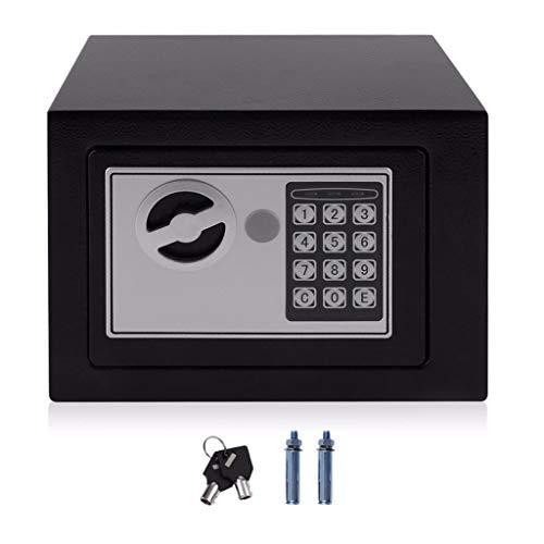 ENDJYO 4.6L Sicherheitskasten, Home Digital Electronic Security Box Innenministerium Wand Typ Schmuck Geld Diebstahlsicherung
