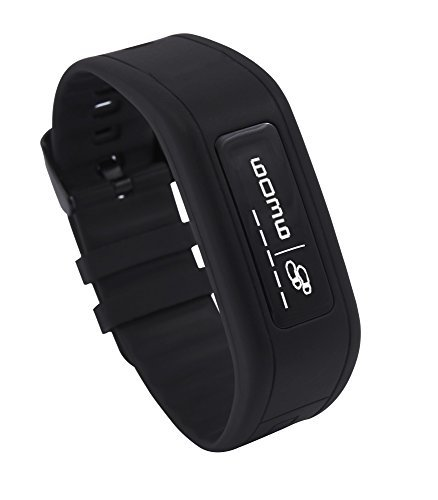 GOQii Life Fitness Band with 3 Months Personal Coaching (Power Black)