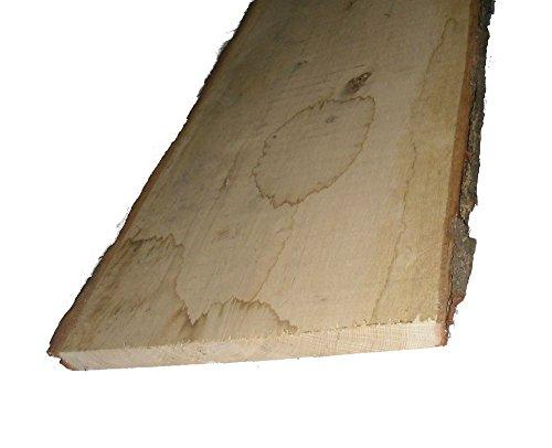 Rustikale Eichenbretter 30mm stark, unbesäumt Mindestbreite 20 cm verschiedene Längen wählbar. (115 cm lang)