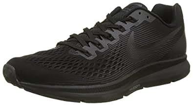Nike Air Zoom Pegasus 34, Chaussures de Running Homme, Noir (Noir/Anthracite/Gris Foncé), 40 EU