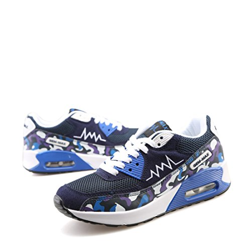Men's Breathable Chaussures Running Shoes blue