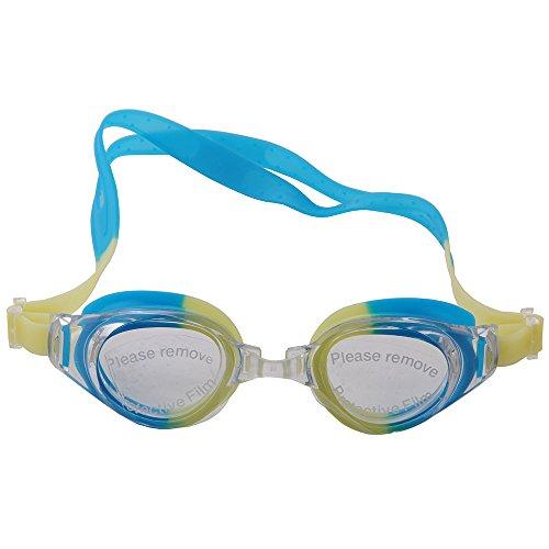 OGOBVCK mit schutzbrillen - schwimmen in komfort und ich und ein hieb - und stichfestes tragekomfort - sich mit uv - schutz - speziell für erwachsene und kinder (YellowGreen)