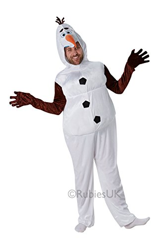 Adultes Rubis Frozen Olaf Bonhomme de neige en peluche Halloween déguisement