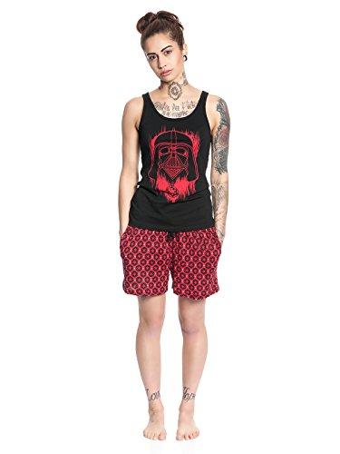 Star Wars Darth Vader Pyjama schwarz/rot Mehrfarbig
