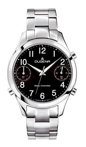Dugena Men's Quartz Watch with Chronograph Quartz Stainless Steel 4460548