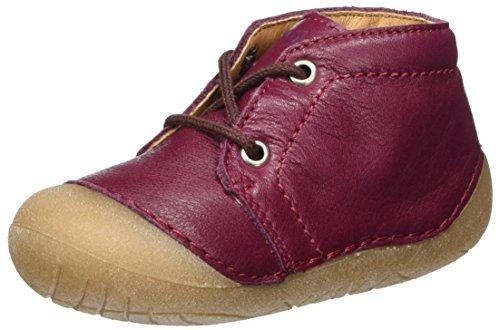 Richter Kinderschuhe Richie, Chaussures Bébé marche bébé fille Rot (Cardinal)
