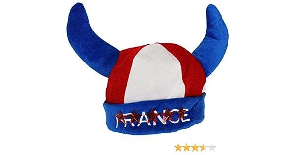 Football Taille Unique Ado // Adulte Handball Deguisement CHAPEAU Bonnet Equipe de FRANCE Sport Rugby